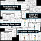 Fifty Fractions Worksheets *Differentiated*