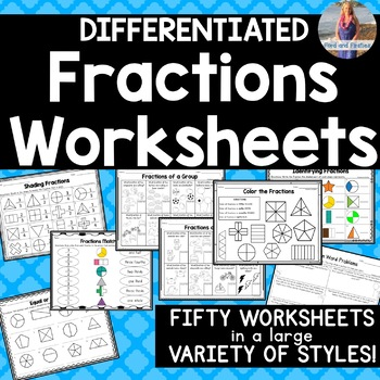 Fractions Worksheets (Ten Included!)