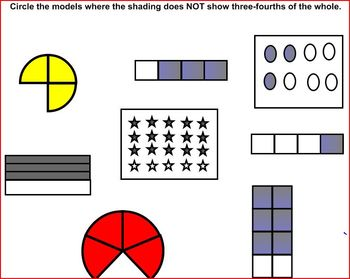 Fraction Worksheets and Smartboard Files - 4-5th Grade