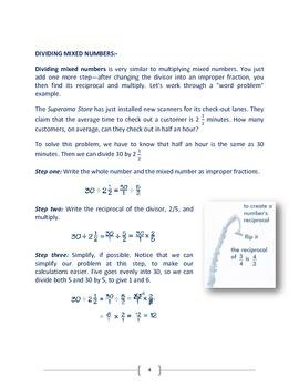 Fraction Worksheets - pdf