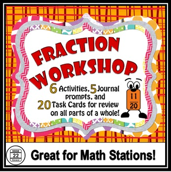 Fractions Activities and Stations