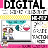 Fraction Writing Tasks for Google Classroom
