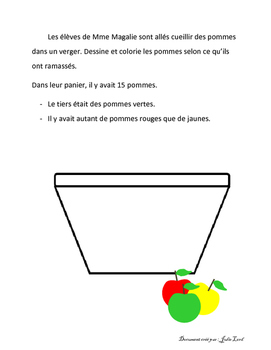 Fraction à dessiner
