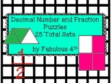 Fraction and Decimal Cards