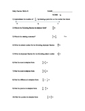 Fraction and Decimal Computation Skills: Intervention Kit