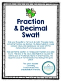 Fraction and Decimal Conversions Fly Swatting Game!