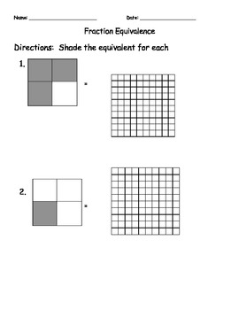 Fraction and Decimal Equivalence