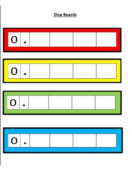 Fraction and Decimal Equivalency Game