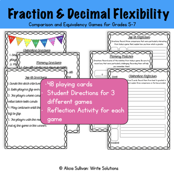 Fraction and Decimal Games