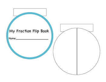 Fraction and Decimal Flip Books