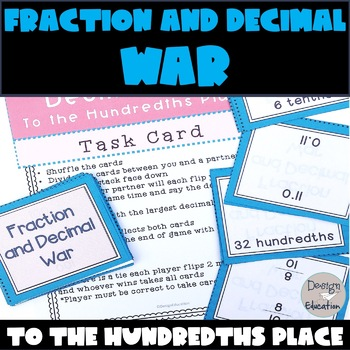 Fraction and Decimal Game War