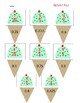 Fraction and Decimal Ice Cream Cone Sort