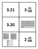 Fraction and Decimal Matching Game