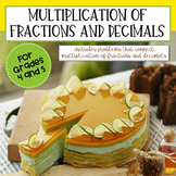 Fraction and Decimal Multiplication