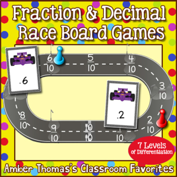 Fraction Number Line Game:  Long Jump