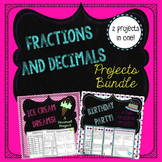 Fraction and Decimal Projects