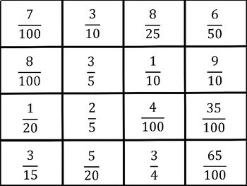 Fraction and Decimal Puzzles