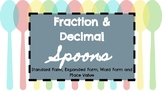 Fraction and Decimal Spoons Game