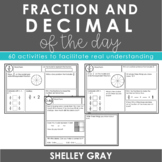 Fraction and Decimal of the Day | Daily Practice for Fractions & Decimal Numbers