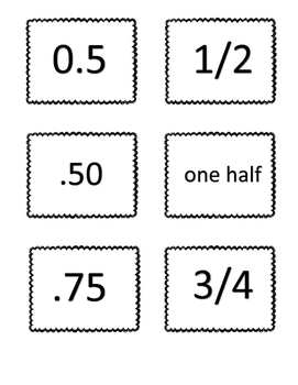 Fraction and Decimals Pack