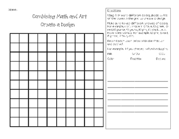 Fraction and Decimals Picture Activity