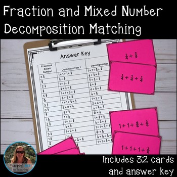 Fraction and Mixed Number Decomposition Matching