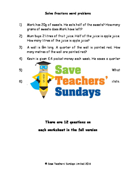 Percentage word problem worksheet teaching resources teachers pay fraction and percentages and ratio word problem worksheets 4 levels ibookread ePUb