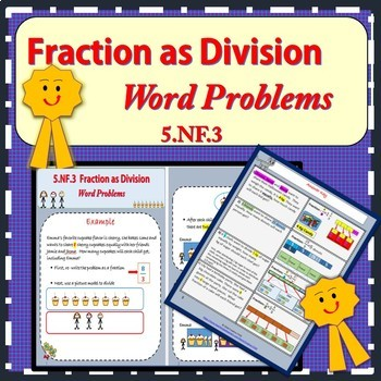 Fraction as Division -Word Problems