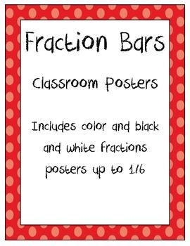Fraction bars poster *FREEBIE**