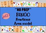 Fraction bingo (Area model)