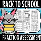 Fraction color assessment