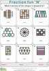 Fraction fun (14 distance learning worksheets for Numeracy)