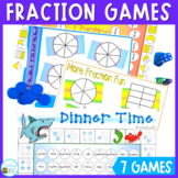 Fraction games to consolidate the early learning of fractions
