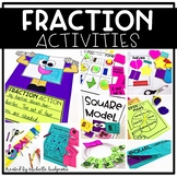 Fraction Games and Activities | Fractions 1st Grade 2nd Grade