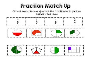 Fraction match up
