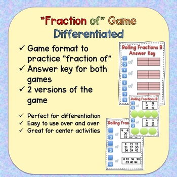 Fraction of Game (Differentiated)