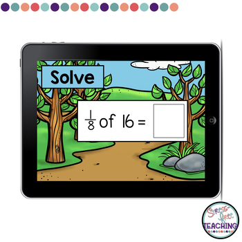 Fraction of Problems Boom Cards