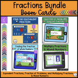 Fractions Bundle - Boom Cards