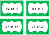 Fraction of a Group Task Cards-CCSS Aligned