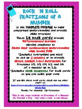 Fraction of a Number Rock 'n Roll BUNDLE!