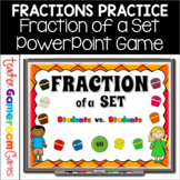 Fraction of a Set - Student vs Student Game