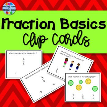 Fraction of a Set Task Cards