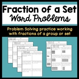 Fraction of a Set Word Problems