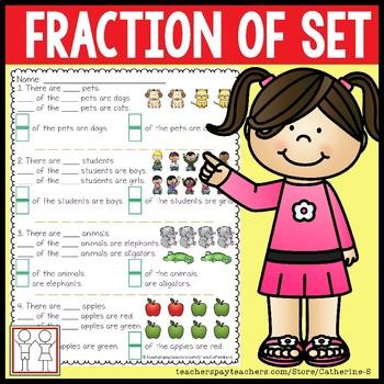 Fraction Practice: Find 1/2 | Worksheet | Education.com