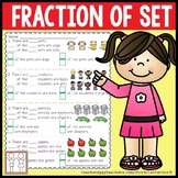 Fraction of a Set Worksheets