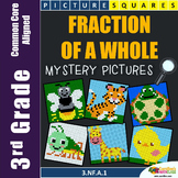 Math Enrichment Activities Third Grade Fractions Part Of A Whole Mystery Picture