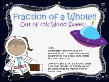 Fraction of a Whole, Out of This World, Sweet!