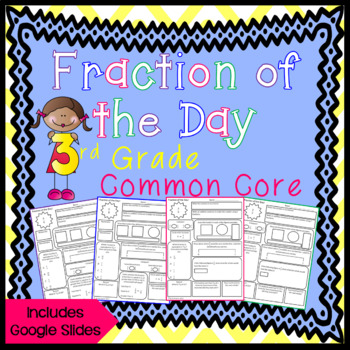 Fraction of the Day for 3rd Grade