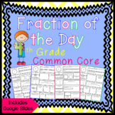 Fraction of the Day for 4th Grade - Distance Learning - Go