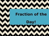 Fraction of the Day Powerpoint